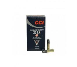 MUNICION CCI CAL.22 LR 40 GR. STD VELOCIDAD