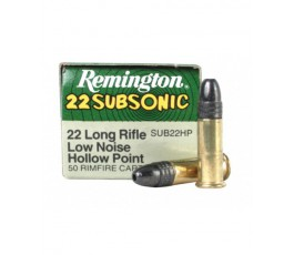 22 subsonic long rifle hollow point 40 grains